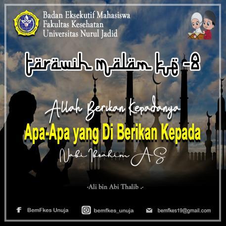 fadhilah-sholat-tarawih-malam-ke-8-ramadhan-1440-h
